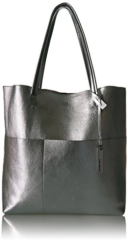 Silver Metallic Tote - 4