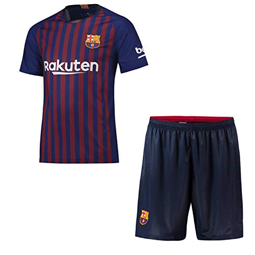 Custom Soccer Jersey & Shorts Club Team (Home and Away) 2018-2019 New Season Personalized Soccer Jersey Kits for Kids Adult Youth Boys Multiple Clubs Any Name and Number Custom Football Jersey