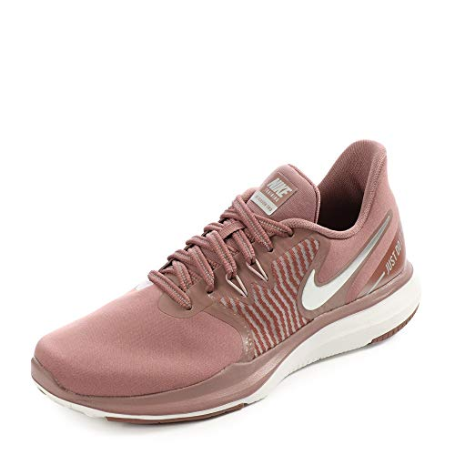 Nike Women's in-Season TR 8 Women's Training Shoes (7, Mauve/Metalic-M)
