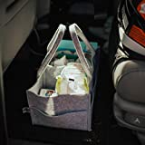 Parker Baby Diaper Caddy - Nursery Storage Bin and