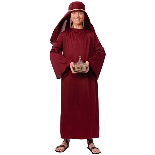 Nativ (Kids Burgundy Wiseman Costumes)