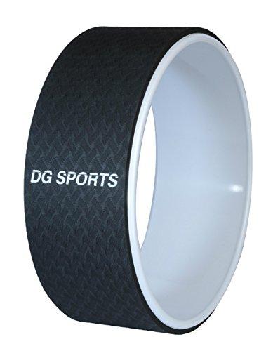 Dg Deportes Yoga–33cm–proporciona Apoyo de rueda para poses, sida, con estiramiento, mejora el equilibrio y...