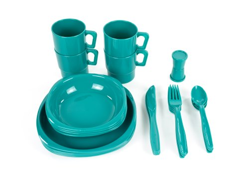 Chinook Camper Tableware Set (Plastic Dish Set)