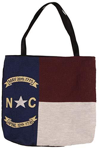 LoomHome Flag of North Carolina Tote Bag 17 x 17