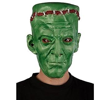 Máscara de Frankenstein verde