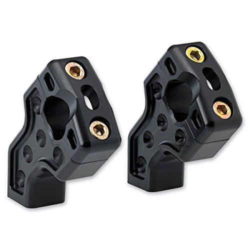 Handlebar Pull - Joker Machine Black Dual Pullback Handlebar Risers 03-866B
