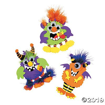 Monster Magnet Craft Kit makes 12 Crafts for Kids