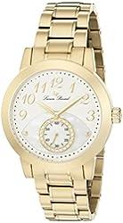 Lucien Piccard Women's LP-40002-YG-22 Garda Analog Display Quartz Gold Watch