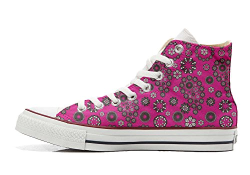 Hot Artesano Customized Paysley Star producto Pink Personalizados Converse Zapatos All TYEz5nq0
