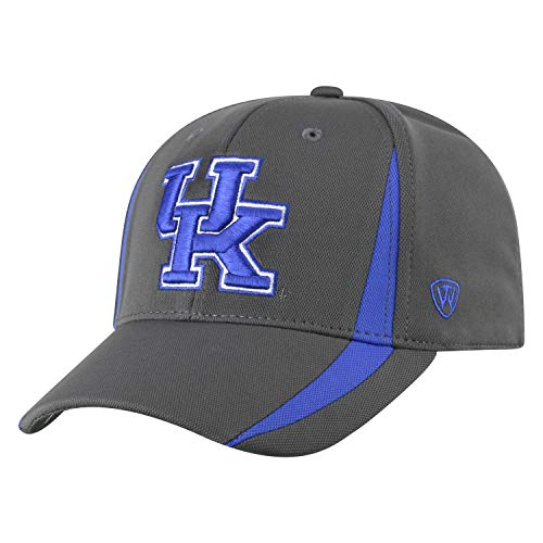 Top of the World Kentucky Wildcats Men's Fitted Hat Icon, Charcoal, One Fit ()