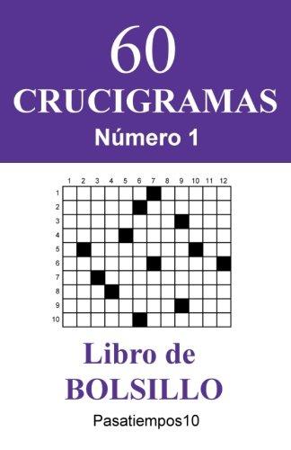 60 Crucigramas Libro de Bolsillo - N. 1 (Volume 1) (Spanish Edition)