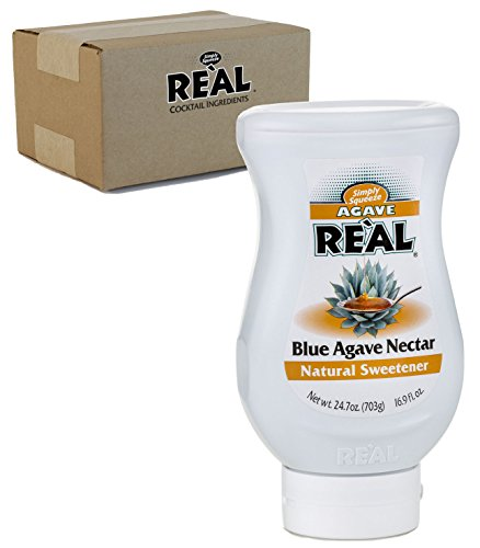 Agave Reàl, Blue Agave Nectar, 16.9 FL OZ Squeezable Bottle (Pack of 1) by Real