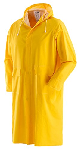 Wasserdicht Mantel Gelb XXL [schwarz]