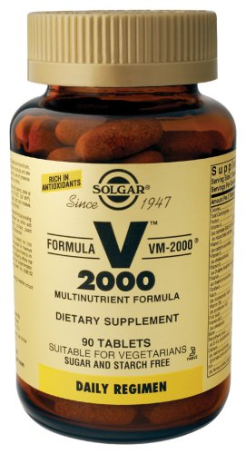 Solgar VM2000 VM-2000 Multivitamins and Mineral 90 capsules
