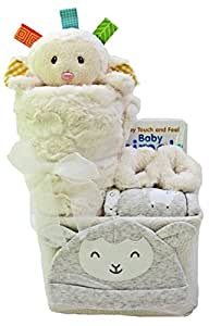 Great Baby Gifts - Welcome New Baby Gift Basket Set – for Boy, Girl, Neutral, Unisex