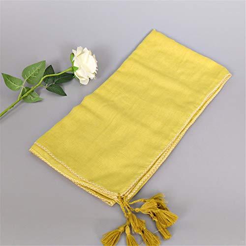 (Balinese yarn scarf sewing craft scarf monochrome shawl scarf I 180x90cm)
