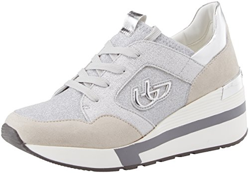 Byblos Women's Running Glam Trainers Silver (Argento 036) authentic cheap online yTBnrnBSF