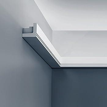 orac decor c361 luxxus cornice moulding indirect lighting system ceiling coving decoration 2 m. Black Bedroom Furniture Sets. Home Design Ideas