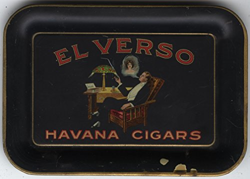 El Verso Havana Cigars Advertising Tip Tray