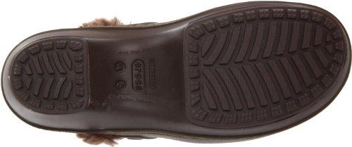 Clog Marron Walnut Crocs Espresso W Femme Eva Cobbler Sabots Crocs Lined vvPIp