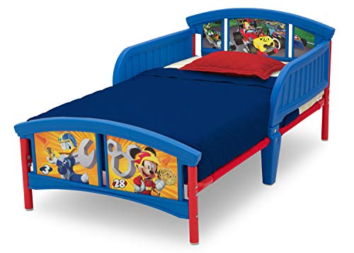 (Disney Mickey Mouse Plastic Toddler Bed by Delta Children)