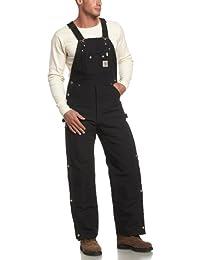 Men's Quilt Lined Zip To Thigh Bib Overalls R41