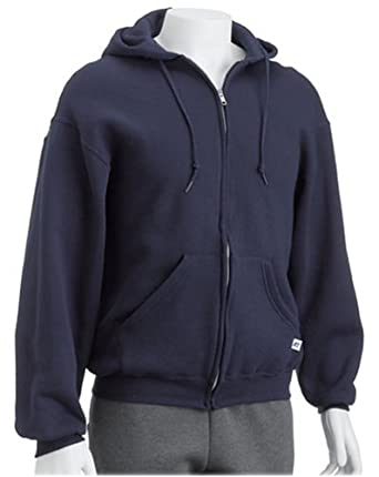 Russell Athletic Men's Dri-Power Hooded Zip-up Fleece Sweatshirt ...