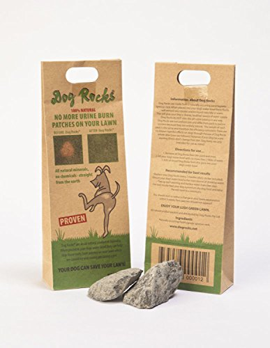 Dog Rocks Prevent Grass Burn Marks, 2 Month - Supply 2 Month