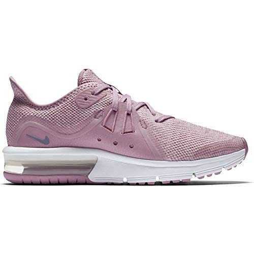 NIKE Air MAX Sequent 3 (GS), Zapatillas de Running para Mujer Multicolor (Elemental Pink/Ashen Slate-pink-white 601)