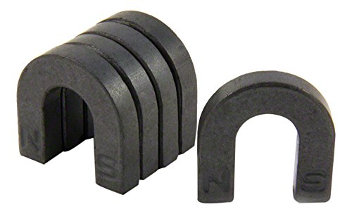 Magnet Expert Ferrite Horseshoe Magnet with North & South Identified (30 x 30 x 7mm) (Pack of 5) Magnet Expert® FH303007-5