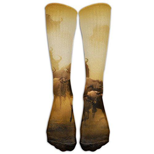 80s Tennis Players Costumes (African Buffalo Men Women Casual Socks 3D Print Colorful Patterned Comfort Cotton Socks Compression Socks For Travel)