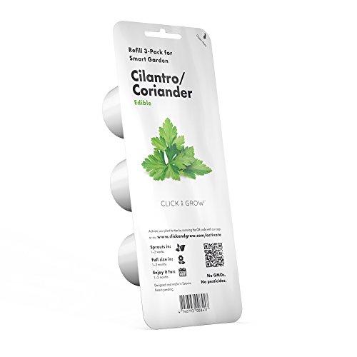 Click and Grow Smart Garden Cilantro/Coriander Plant Pods, - Smart Pod