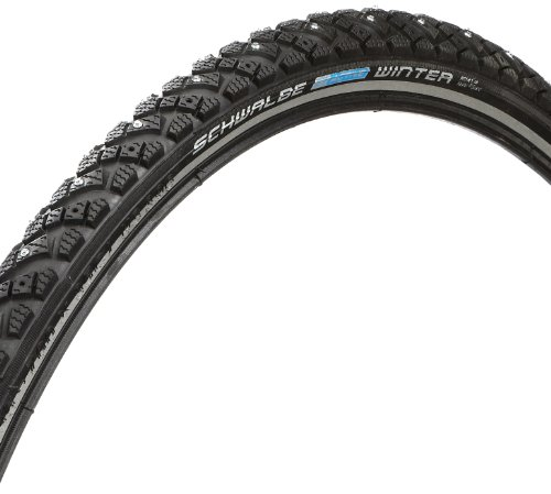 SCHWALBE Winter 26x1.75 Wire Winter Clincher Kevlar Guard Reflex 50TPI 30-70PSI Black Bike Tire