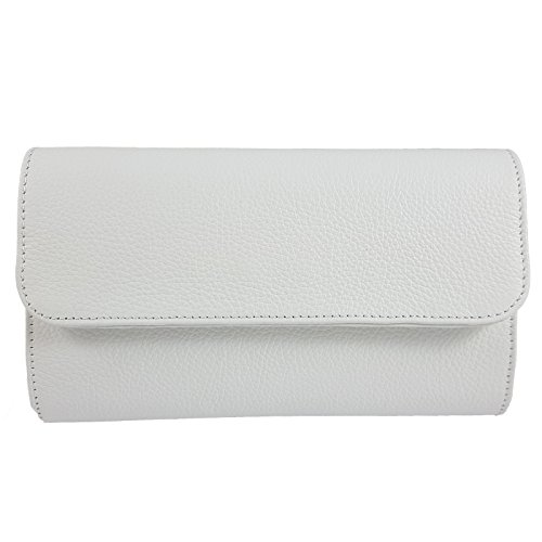 femme Freyday pour Pochette Italy Made Weiß in v1f4T
