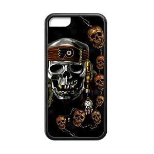 Custom Unique Design NHL Philadelphia Flyers Iphone 5C Silicone Case