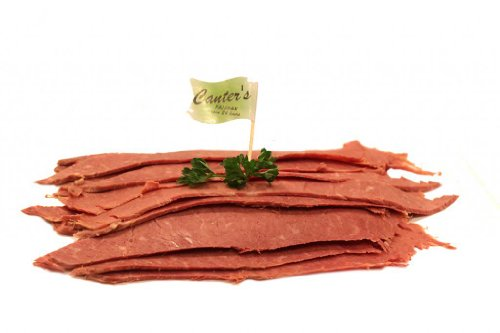 Canter's Deli, Corned Beef Sliced Lean, 3/4 lb