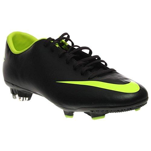 Nike Mercurial Victory III Zapatillas de fútbol suela dura negro