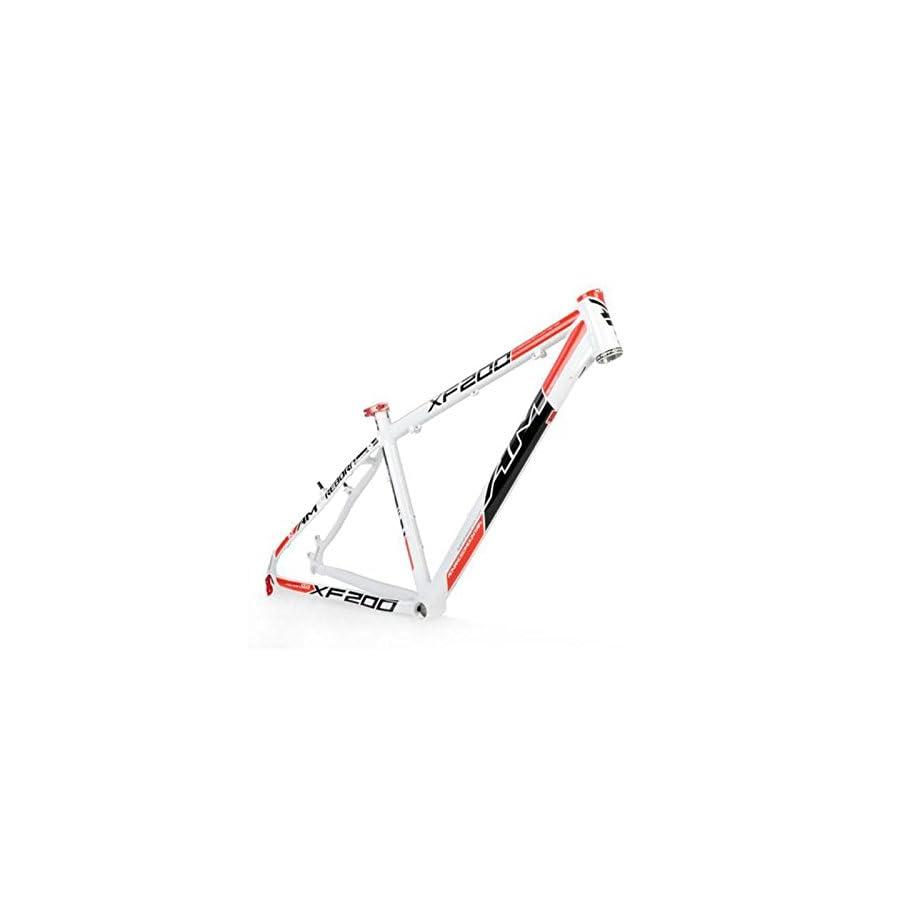 "OEM 2015 AM XF200 AL6061 Mountain Bike Frame 26"" x 16 17 18"" White Red"