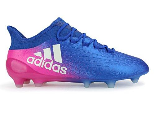 Adidas Mænds X 16,1 Fg Blå / Hvide Fodboldstøvler