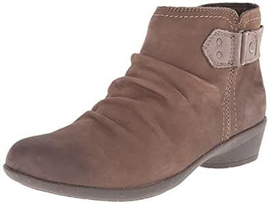 ROCKPORT Cobb Hill Women's Nicole Boot, Stone, 6 M US