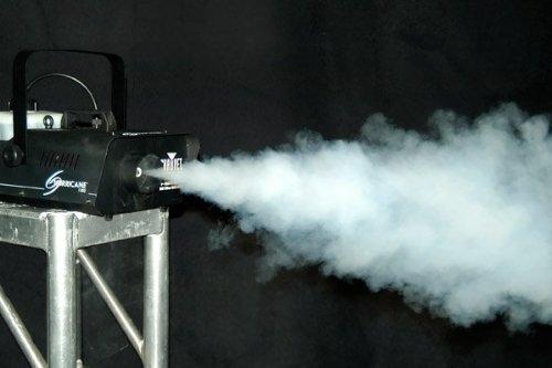 CHAUVET Hurricane H1300 Fog/Smoke Machine + FC-W Wireless Remote + FJU Fog Fluid