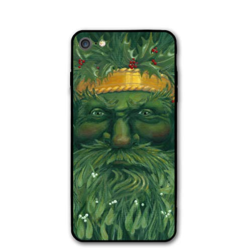 (Yuletide Christmas Yule Tree King Pagan iPhone 7 8 Plus 7plus 8plus Phone Case Cover Theme Decorative Mobile Accessories Ultra Thin Lightweight Shell Pattern Printed Ornament Decorations)