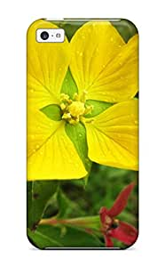 New Style Awesome Case Cover Compatible With Iphone 5c - Yellow Flowers 8547696K13449287