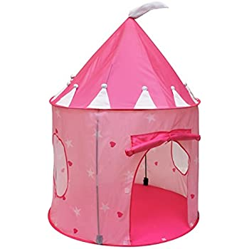 Click Nu0027 Play Girlu0027s Princess Castle Play Tent Pink  sc 1 st  Amazon.com & Amazon.com: Click Nu0027 Play Girlu0027s Princess Castle Play Tent Pink ...