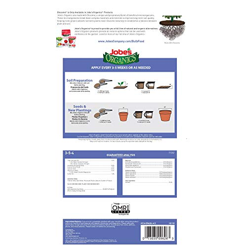 Jobe's Organics 9626 Bulb Granular Fertilizer, 4 lb, Brown - http://coolthings.us