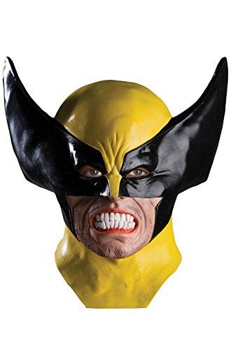 Rubie's Men's Marvel Universe Adult Wolverine Latex Mask, Multi, One -