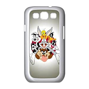 Looney Tunes Characters Samsung Galaxy S3 9300 Cell Phone Case White toy pxf005_5774278