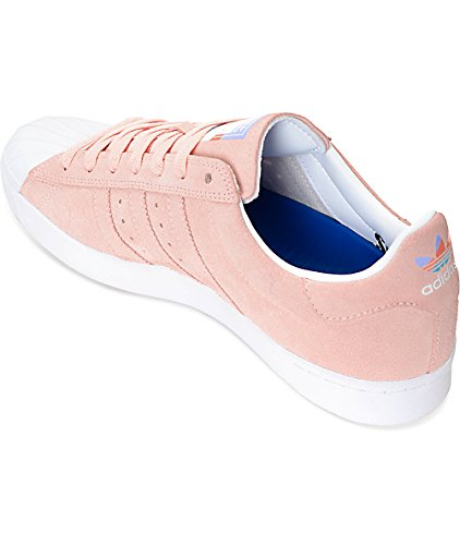 Adidas Superstar Vulc Adv Cg4839 - Rosa Pastello - Mens Uomo 7.5
