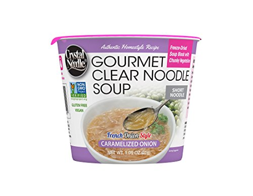 Crystal Noodle Non-GMO Soup, Caramelized Onion, 1.09 Ounce (Pack of 6)
