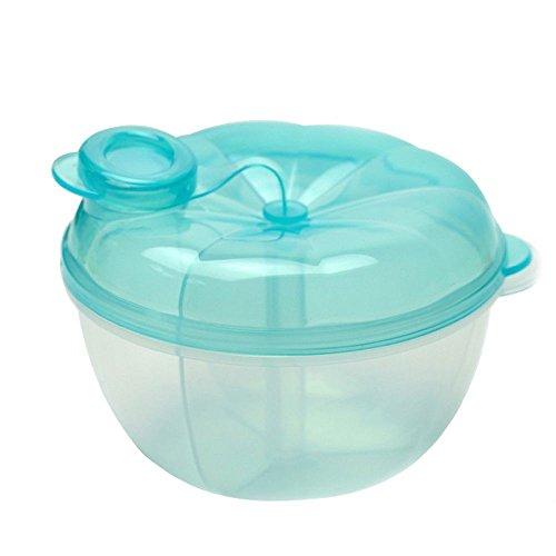Frueaduy Fashion Dispenser Formula Baby Feeding Container 3-Layer Milk Powder Box Food Storage
